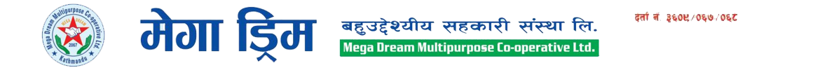 Megadream Multipurpose Co-operative Society Ltd. Logo